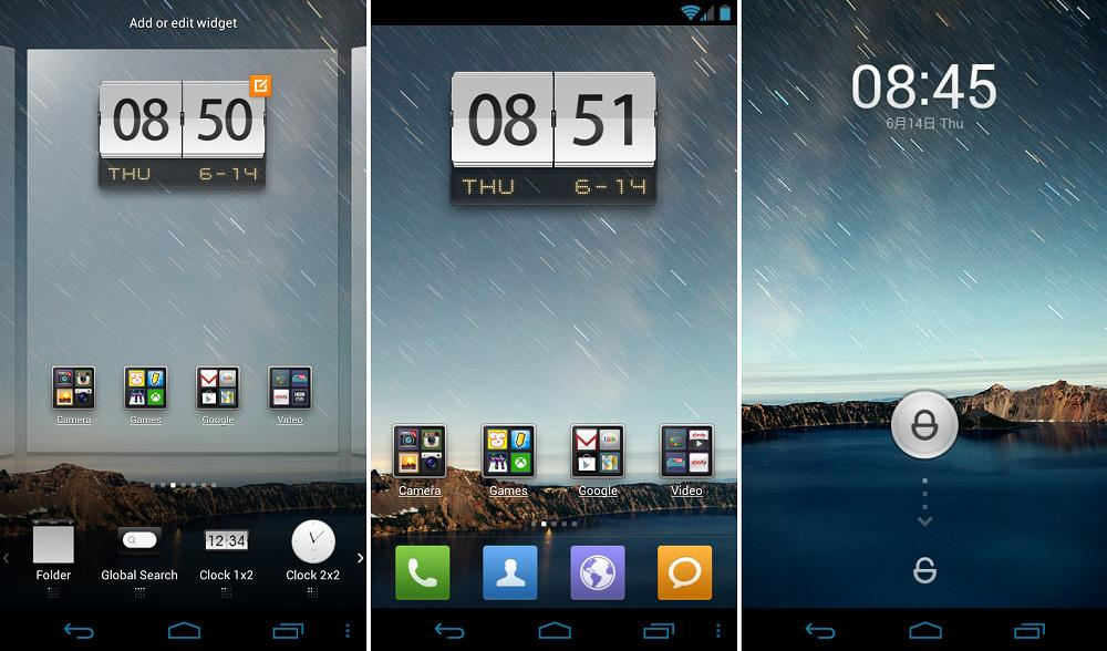 MIUI launcher для Android