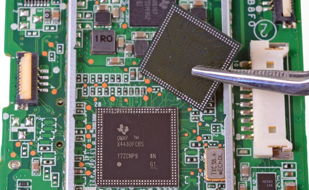 Замена процессора планшета