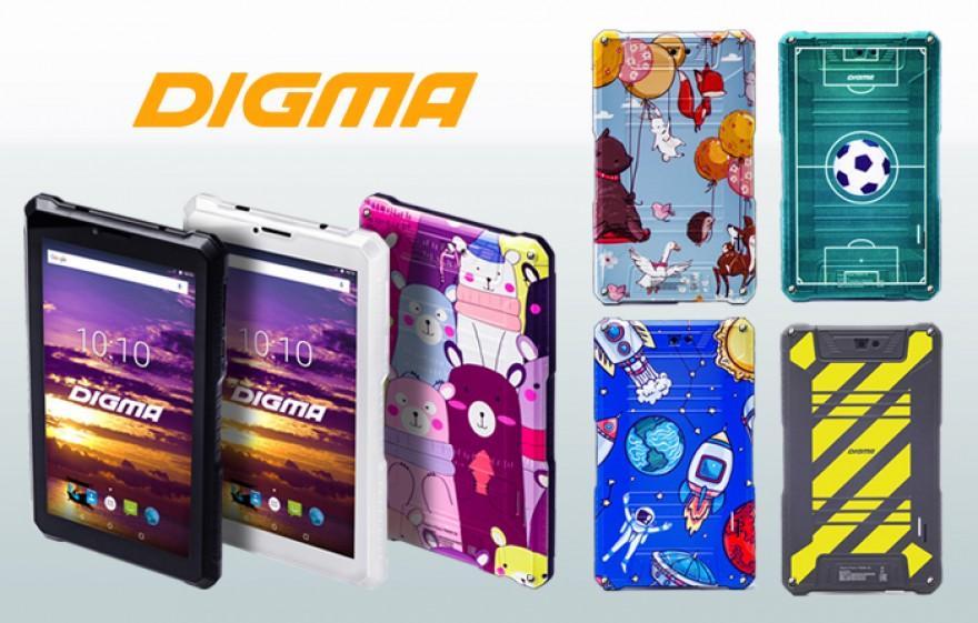 Digma детский планшет