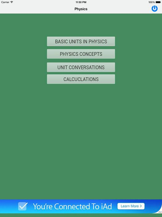 Formulary: Physics Free