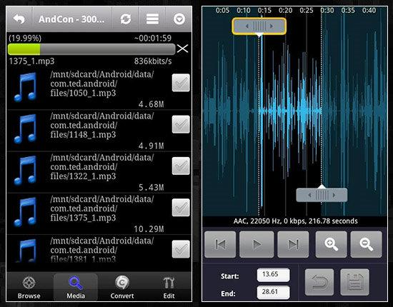 MP3 editor от Mobil V5