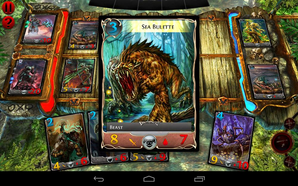 Order and Chaos Duels от Gameloft