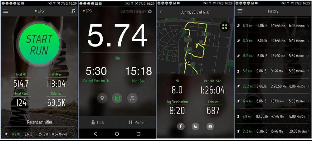 Running Distance Tracker