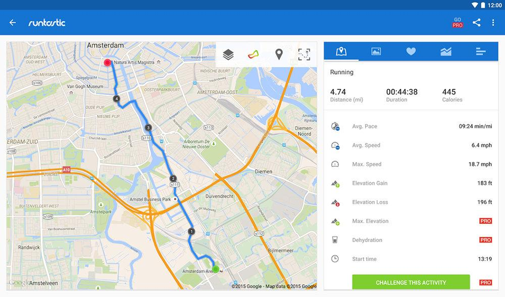Runtastic Running and Fitness
