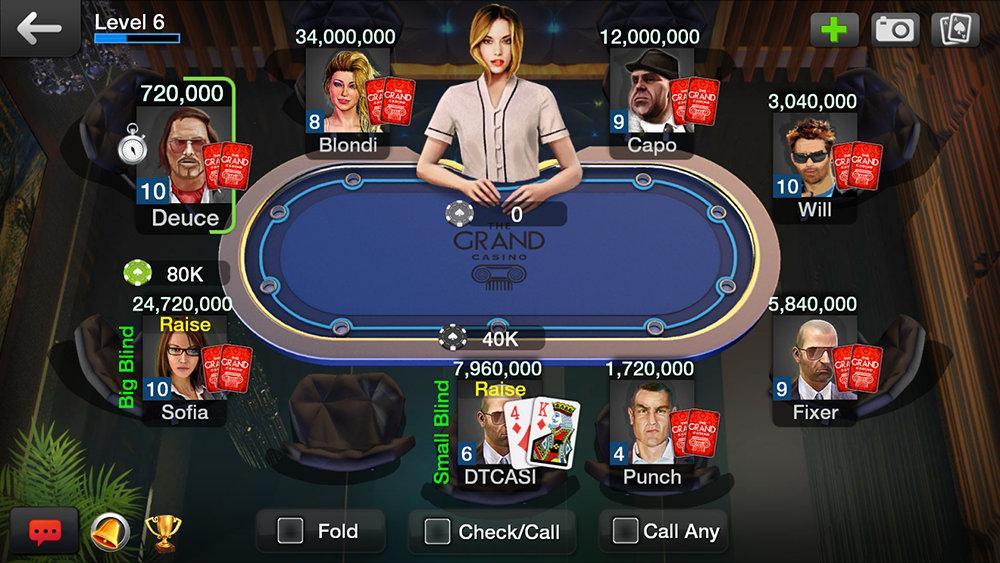 Texas Holdem от DYNAMICNEXT