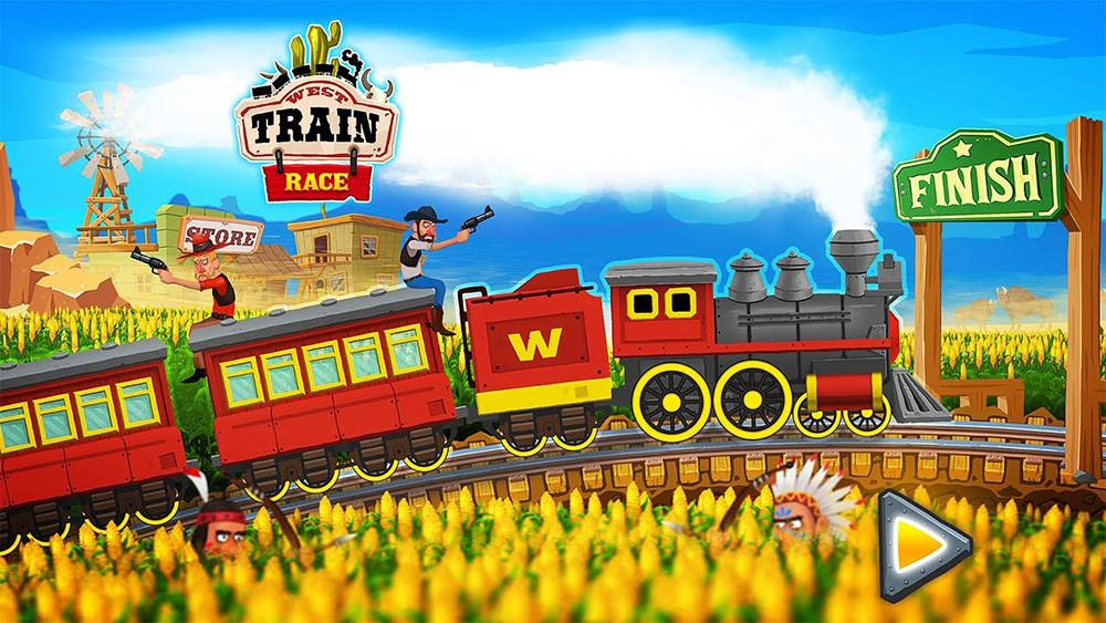 Trains of the Wild West