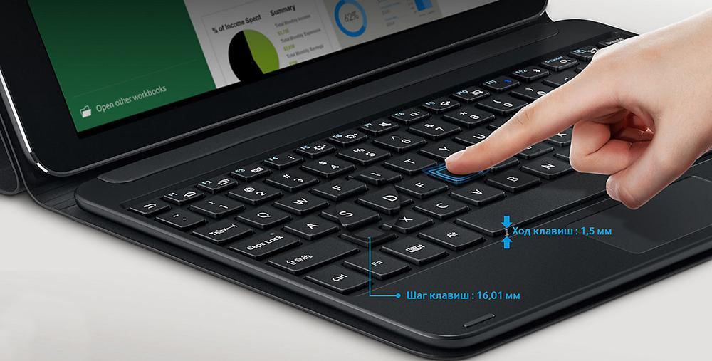Пример внешней клавиатуры