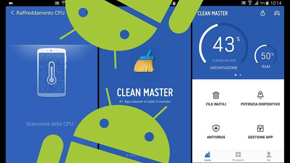 Clean Master от Cheetah Mobile