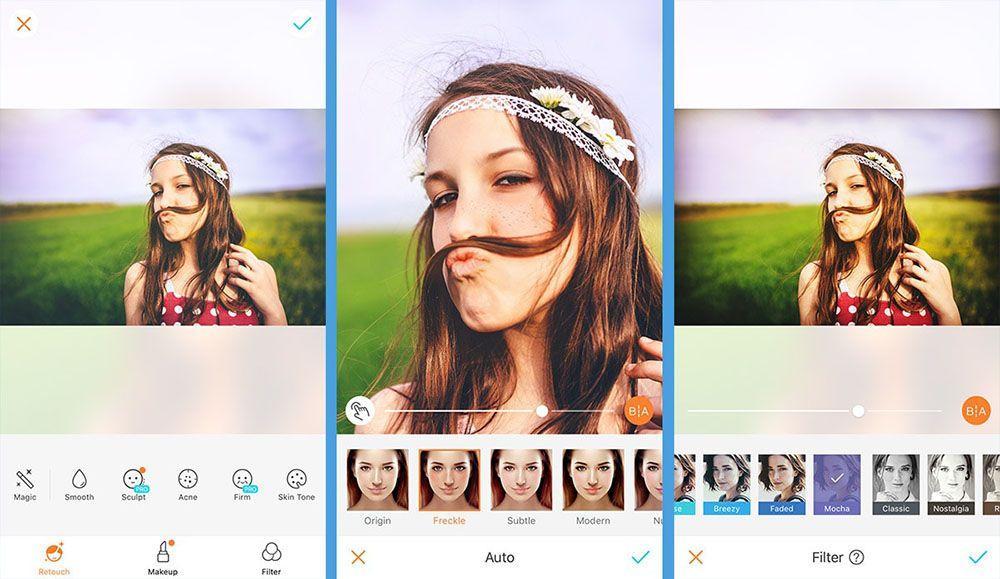 AirBrush - Простой редактор фотографий