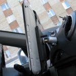Как закрепить планшет в авто своими руками