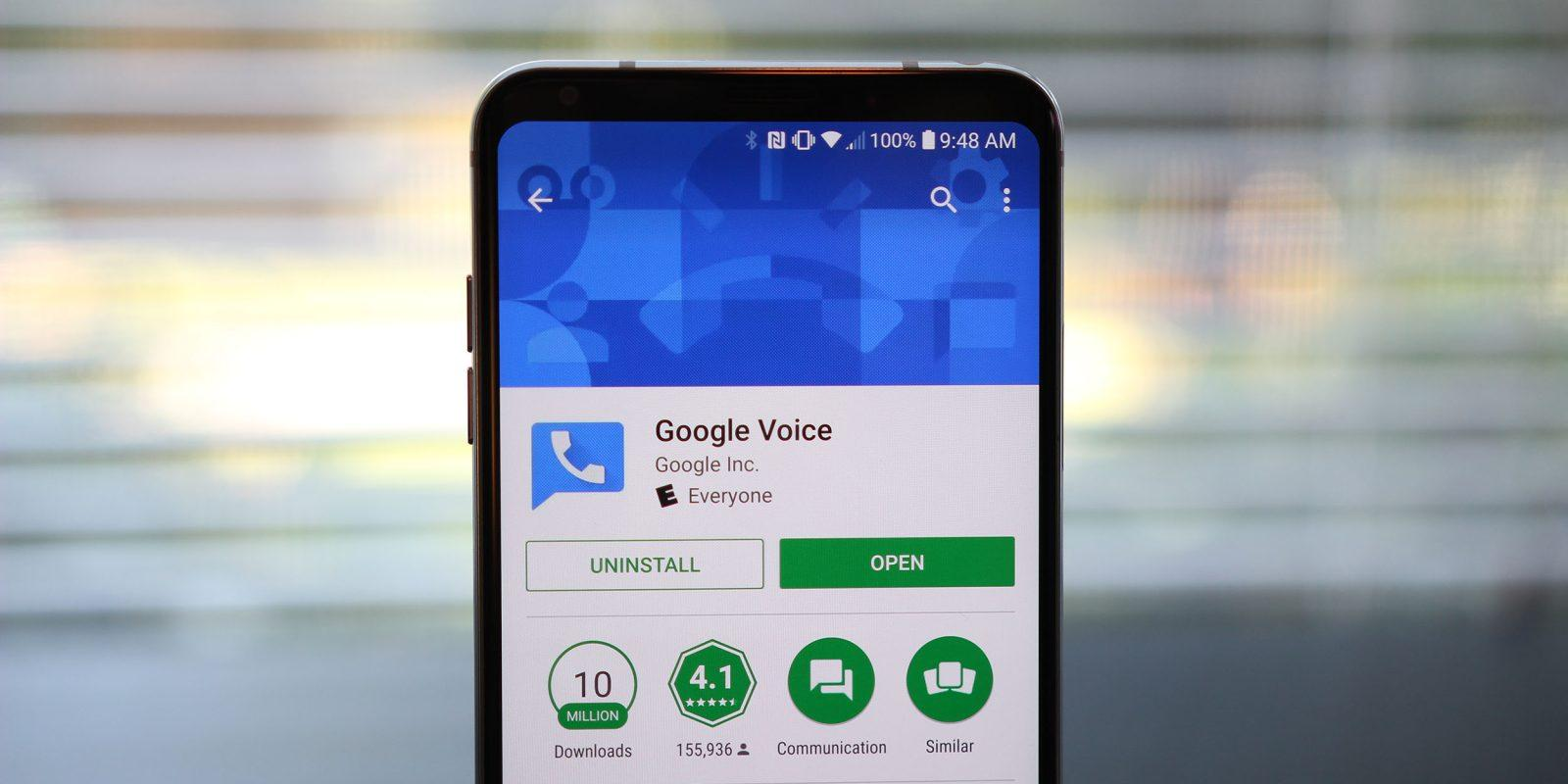 Приложение google voice